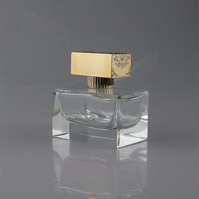 50ml sprayer glass bottle with a rectangle ABS cap