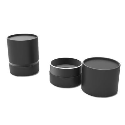 Cylinder box with logo design