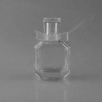 50ml pure hand polishing glass crystal bottle for perfume