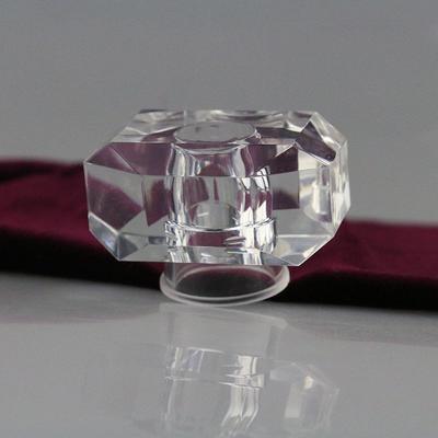 Transparent square surlyn lid